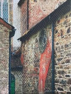 Lismore Ireland 6, Mixed Media on Canvas
