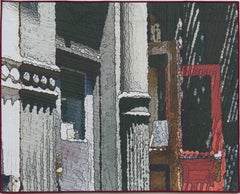 Soft City: Red Door, Mixed Media on Other