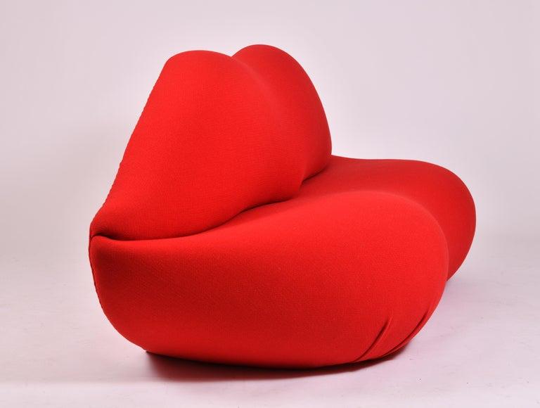 Mid-Century Modern Marilyn Lips Sofa by Gufram For Sale