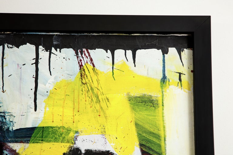 Marilyn Monroe Abstract Painting, circa 1966 In Good Condition For Sale In New York, NY