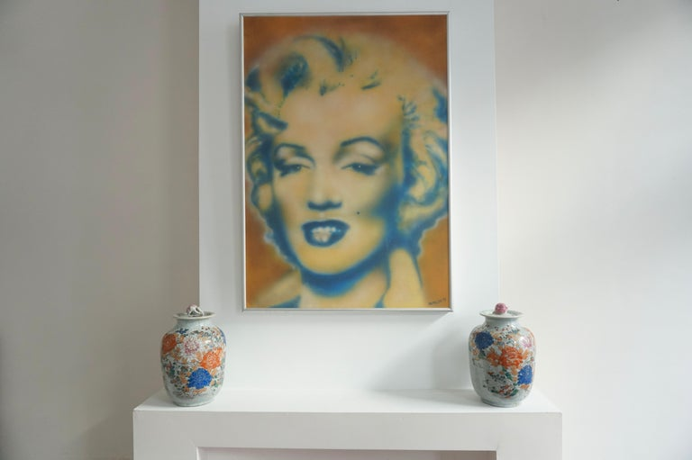 Brushed Marilyn Monroe by Ian Miller For Sale
