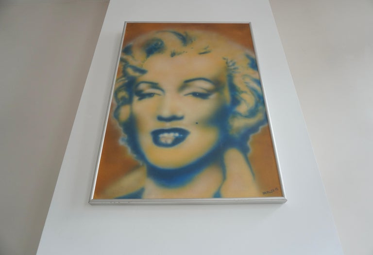 Late 20th Century Marilyn Monroe by Ian Miller For Sale