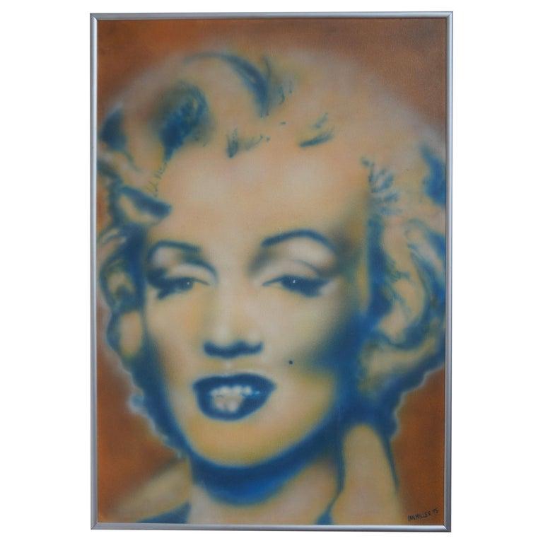 Marilyn Monroe by Ian Miller For Sale
