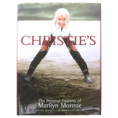 Marilyn Monroe Christie's Estate Catalog Auction c 1999