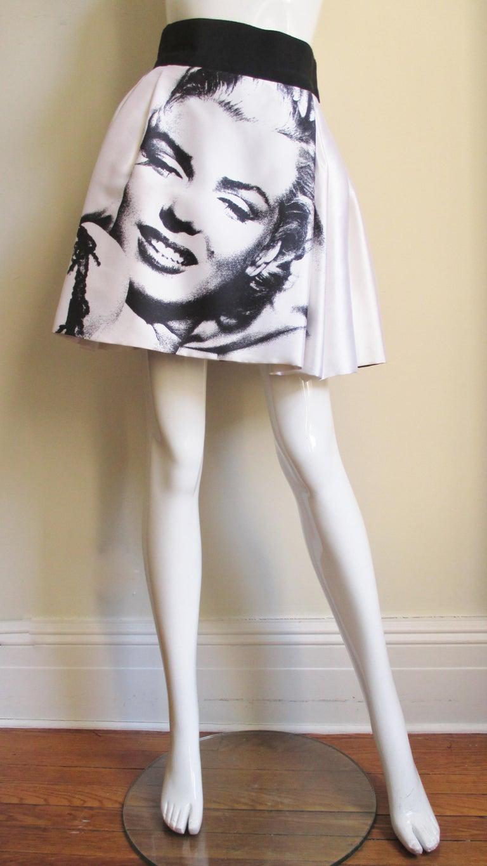 Dolce & Gabbana Marilyn Monroe Print Skirt For Sale 3