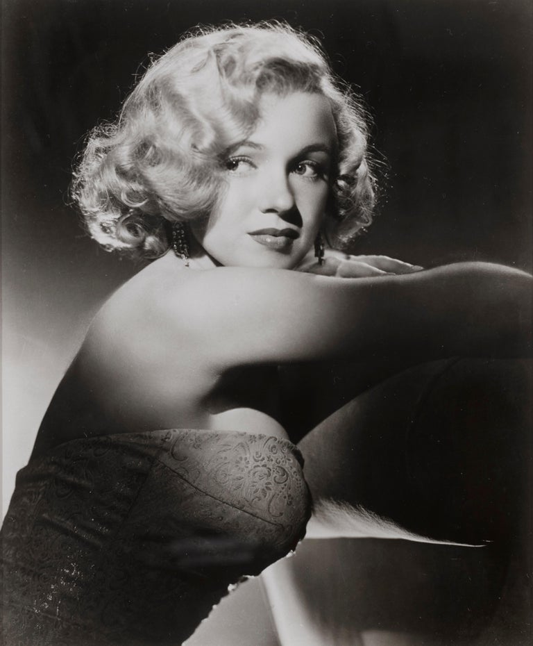 Original US 20th century Fox photographic production still used to promote the studio's star Marilyn Monroe in the early 1950s. This piece is conservation framed and would be shipped by Federal Express. The size given is before framing.