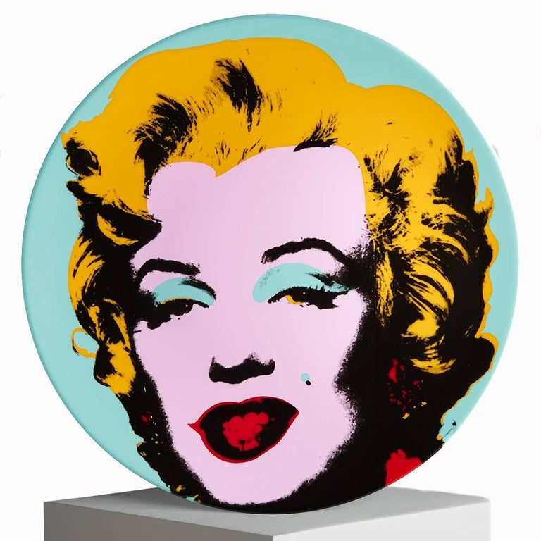 French Marilyn Salad or Dessert Plates, after Andy Warhol