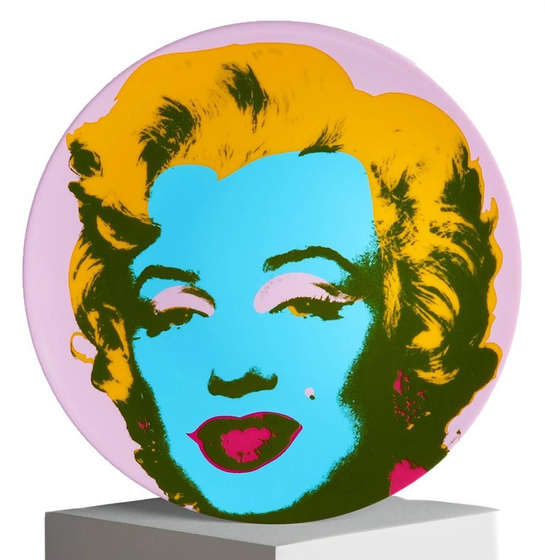 Contemporary Marilyn Salad or Dessert Plates, after Andy Warhol