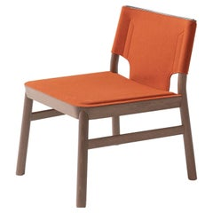 Marimba 114 Orange Lounge Chair by Emilio Nanni