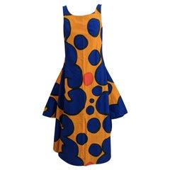 Marimekko Cotton Print Circular Cut Hem Dress