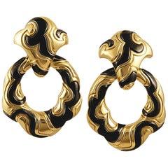 Marina B. Ken Detachable Hoop Earrings