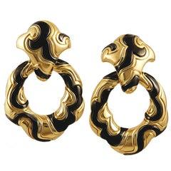 Marina B. 18 Karat Gold Ear Clips