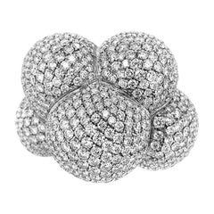 Marina B 18 Karat White Gold Diamond Ring