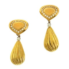 Marina B Balloon Drop Diamond Earrings