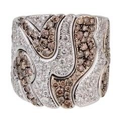 Marina B Kar Diamond Cocktail Ring