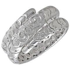 Marina B Onda Serpentine Diamond Bracelet