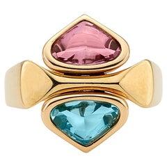 Marina B. Semi-Precious 4-in-1 Ring