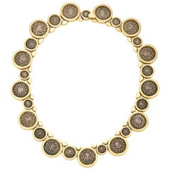 Marina B Solar Coins Gold Necklace