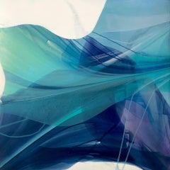 """""""Flight"""" -  Nature Inspired Abstract Painting - Paul Jenkins"""