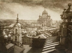View of the Savior Cathedral from Pashkov's House