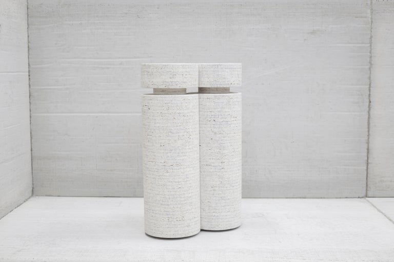 Made from May Furniture's unique compressed hardwood material, comprised of various random fast-growth wood species.