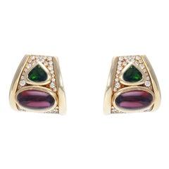 Marina.B Earrings Diamonds and Gemstones