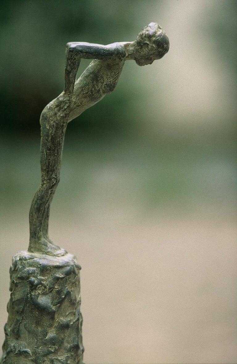 Marine de Soos Nude Sculpture - Attitude III, Female Nude Bronze Sculpture