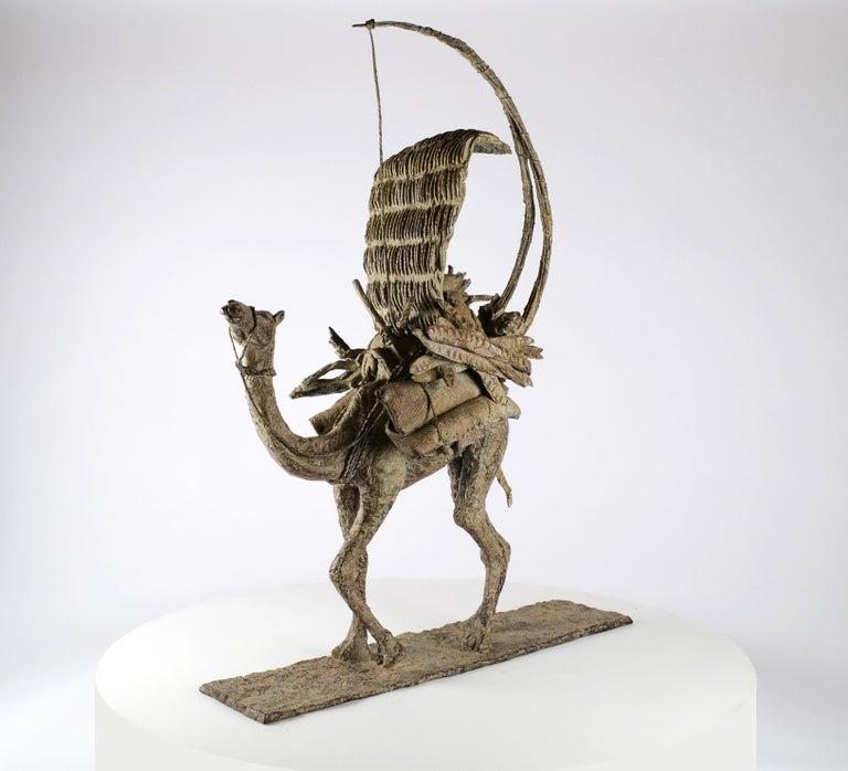 The Vessel of the Desert, Animal Bronze Sculpture (Camel) For Sale 1