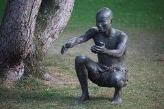 The Welcome, Outdoor Bronze Sculpture