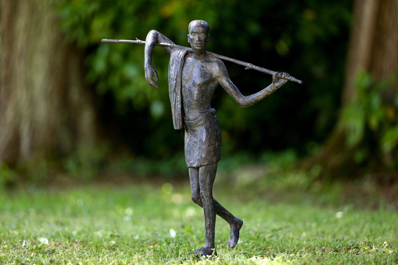 Transhumance, Figurative Bronze Sculpture
