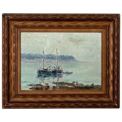Marine Impressionist Landscape