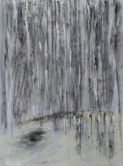 Black Rain, Painting, Acrylic on Canvas