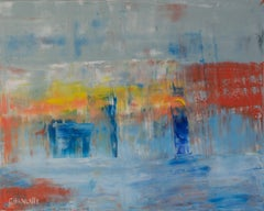 Ocean 67, Painting, Oil on Canvas
