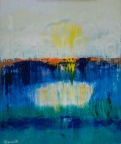Ocean 68, Painting, Oil on Canvas