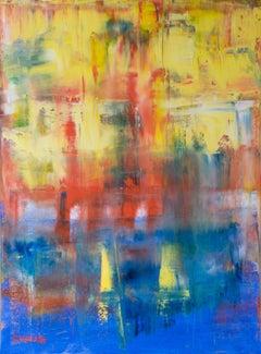 Ocean 74, Painting, Oil on Canvas