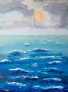 Ocean 75, Painting, Oil on Canvas