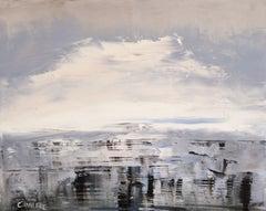 Winter Ocean, Ocean 33, Painting, Oil on Canvas