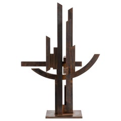 "Marino Di Teana, ""Hommage Aux Sciences 'Nancy'"" Skulptur, Frankreich, 1978"