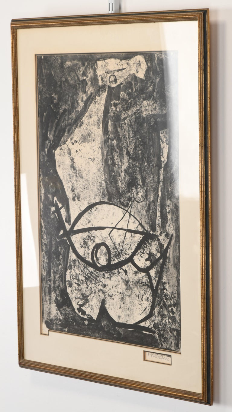 Mid-Century Modern Marino Marini Lithograph