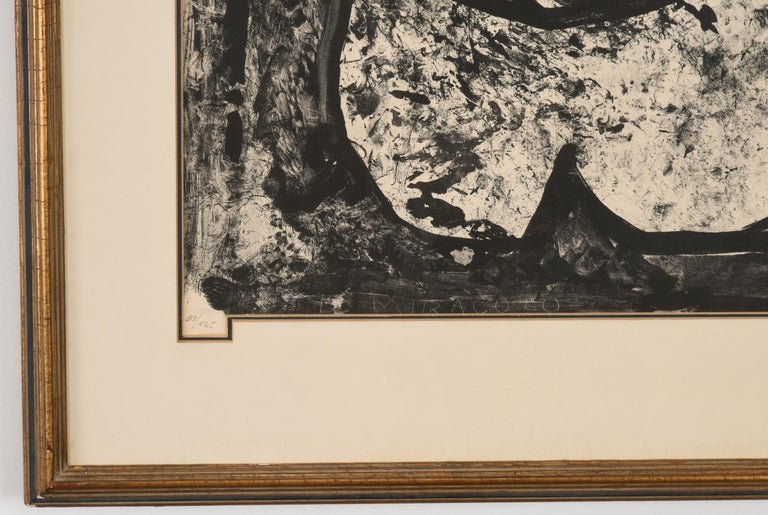 Late 20th Century Marino Marini Lithograph