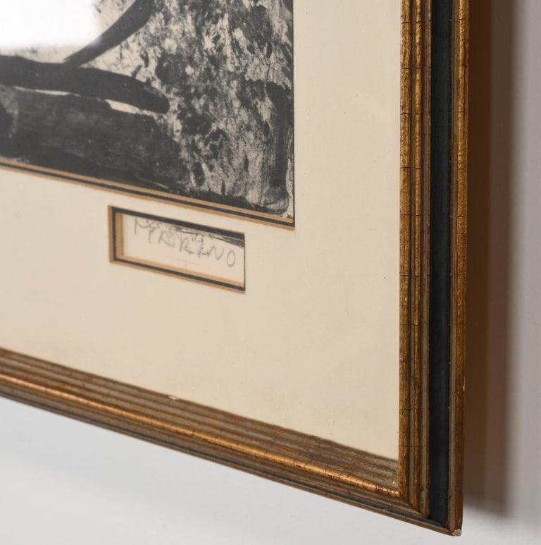 Wood Marino Marini Lithograph