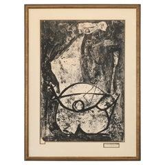 """Marino Marini Lithograph """"Il Miracolo"""", 1975"""