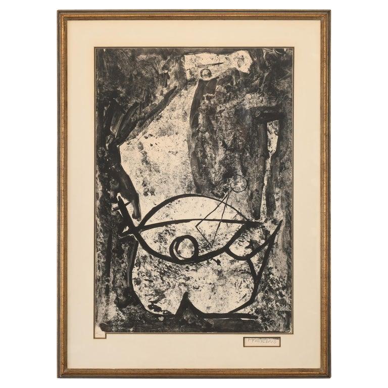 """Marino Marini Lithograph """"Il Miracolo"""", 1975 For Sale"""