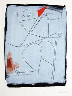 Acrobats - 1960s - Marino Marini - Etching - Contemporary