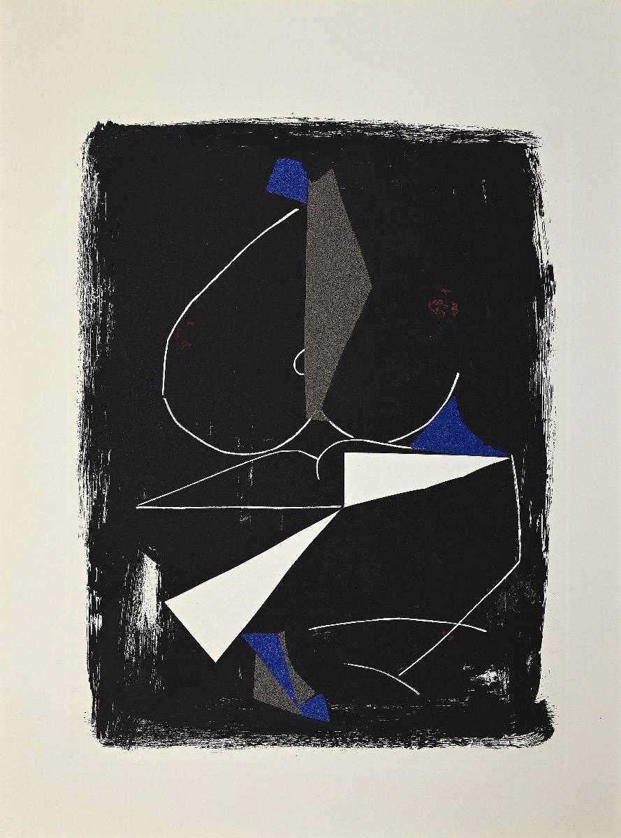 Applause - Original Etching and Aquatint by Marino Marini - 1963