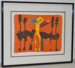 Chevaux et Cavaliers Artist Proof