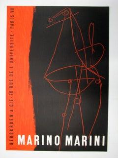 Composition - BERGGRUEN AND CIE, 1955 by Marino Marini, 1955