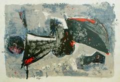 Il Grido (The Cry) - Original Lithograph by Marino Marini - 1965
