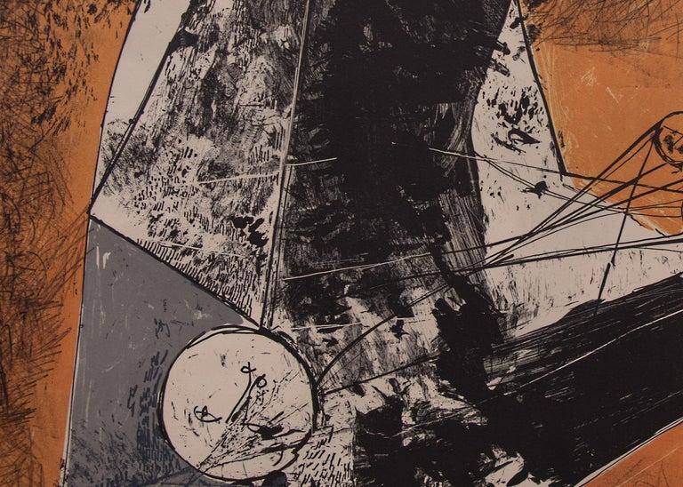 Il Miracolo (The Miracle) - Abstract Print by Marino Marini