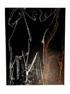 Marino Marini - Horses - Original Lithograph